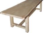 Bespoke Handmade Solid Cedar of Lebanon Table