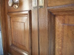 English Oak Doors Restored Using French Polishing Techniques