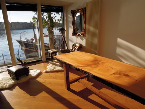 Bespoke Solid Cedar Dinning Table