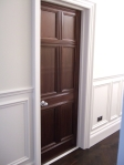 Mahogany Door Finished using French Polishing