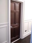 Mahogany Door Finished using French Polishing