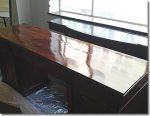 Sideboard restored using French Polishing