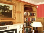 Antique Effect on Pine Panelled Rooms Achieved With French Polishing Techniques