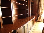 Mahogany Panelled Rooms Restored With French Polishing Techniques