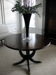 Coffee Bean Coloured Table - Achieved With French Polishing