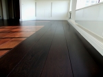 Hardwood Wenge Floor Finished With French Polishing Techniques