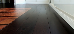 Hardwood Wenge Floor Finished With French Polishing Techniques