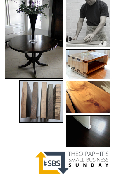 French Polishing and Bespoke Furniture London SBS Winner