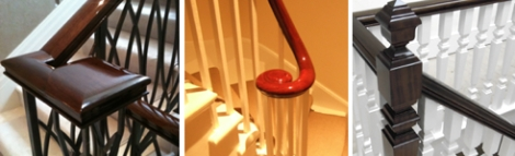 Paleamber London's Handrail French Polishing Service