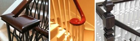 Paleamber London's Handrail French Polishing Service