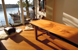 Handmade Cedar Dinning Table for sale