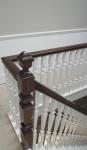 Mahogany Handrail After French Polishing