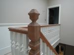 Mahogany Handrail Before French Polishing
