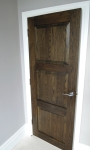 Oak Door After French Polishing