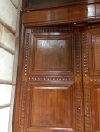 Grade II Listed Oak Doors After French Polishing