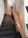 French Polishing Dark To Light Handrail