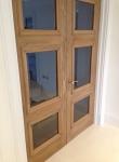 French Polishing Oak Doors Light To Dark