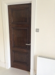 French Polishing Oak Doors Light To Dark